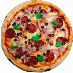 """Пицца """"Четыре мяса"""""""
