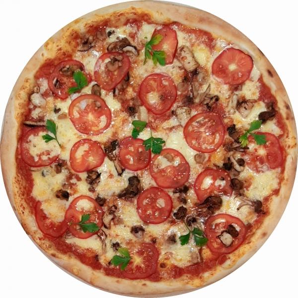 "Пицца ""Морской коктейль"""