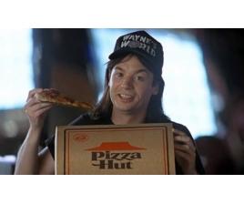 Пицца в кинематографе и мультфильмах