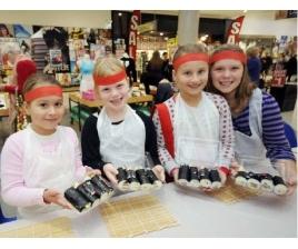 Суши - полезное блюдо для детей
